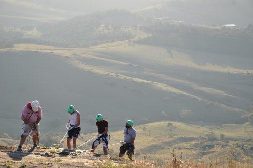 RAPEL PEDRA BELA VISTA – 98 metros